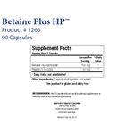 Biotics Research Betaine Plus HP™