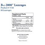 Biotics Research B12-2000™ Lozenges