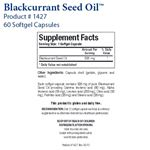 Biotics Research Blackcurrant Seed Oil™