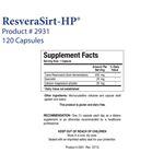ResveraSirt-HP™ (120C)-2