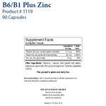 Biotics Research B6/B1 Plus Zinc