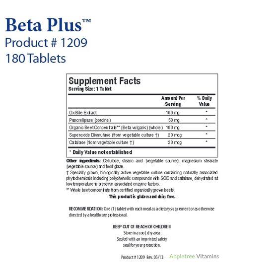 Biotics Research Beta Plus™