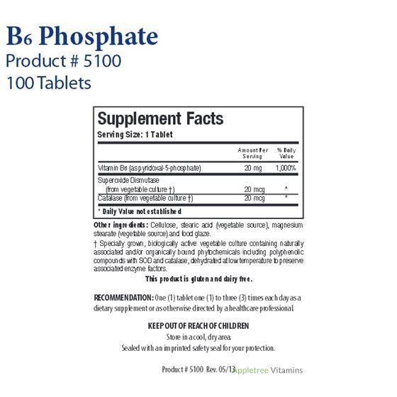 Biotics Research B6 Phosphate