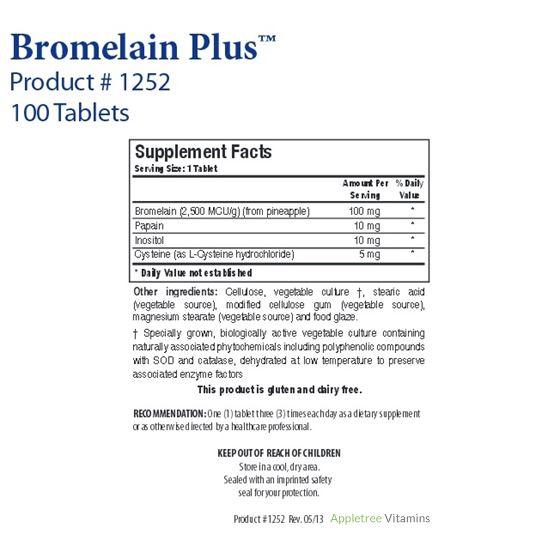 Biotics Research Bromelain Plus™ (Lactose Free)