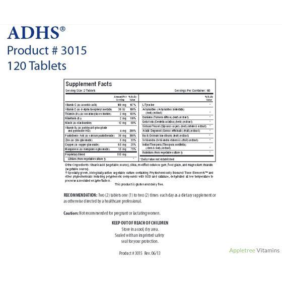 Biotics Research ADHS® Adrenal Support (120T)
