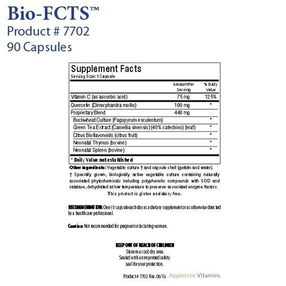 Biotics Research Bio-FCTS™